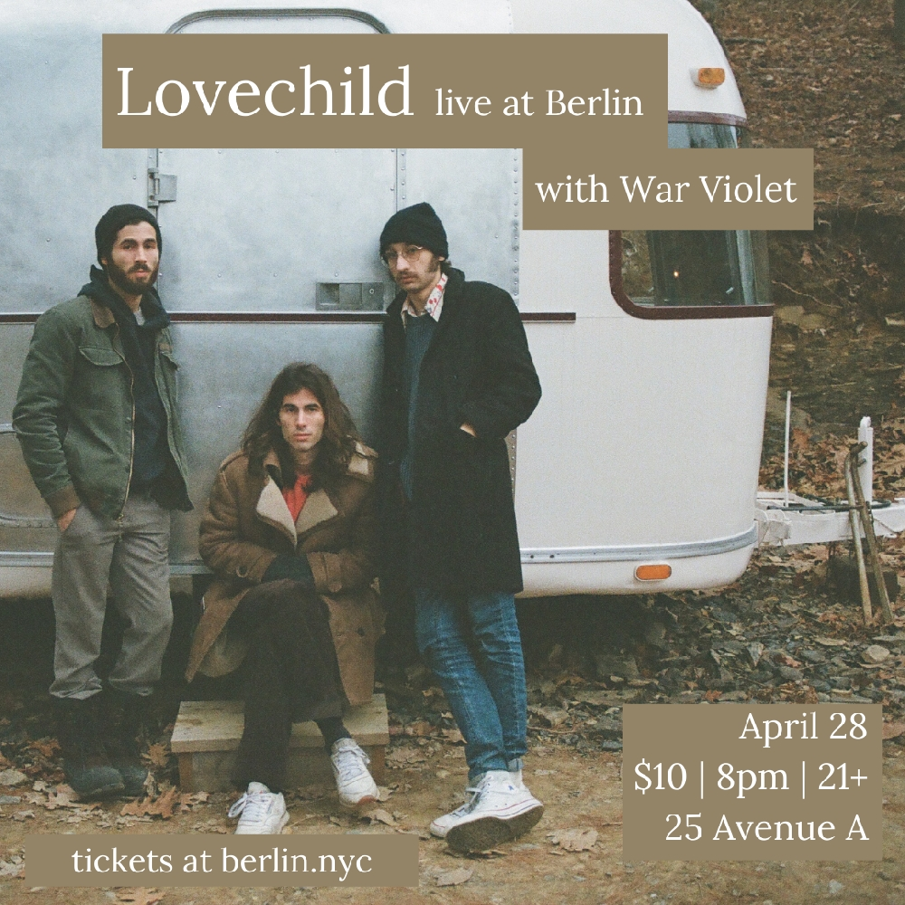 Lovechild with special guest War Violet