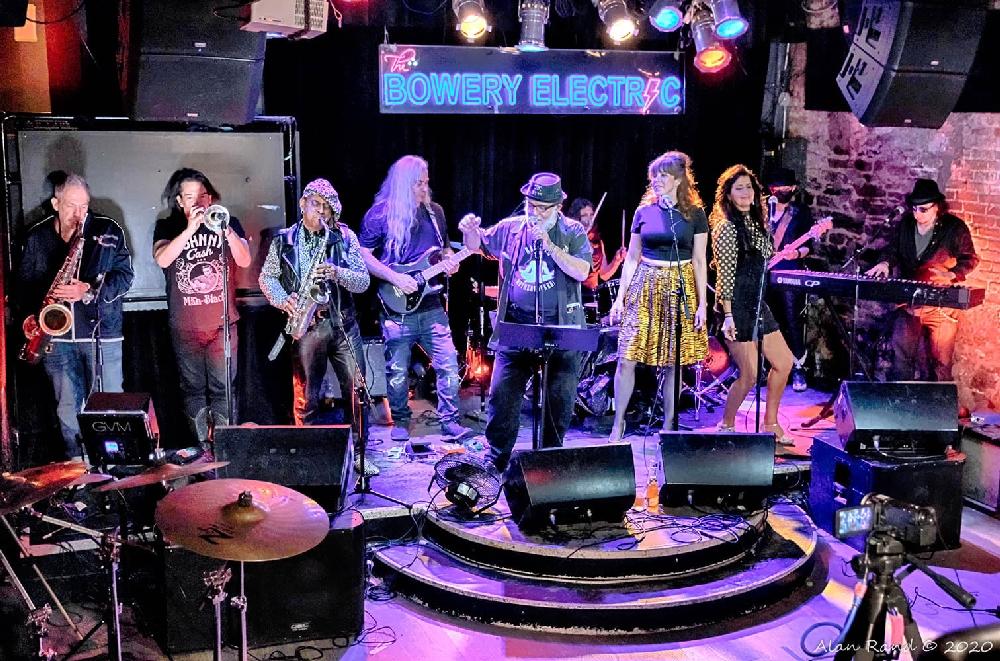Frank Wood + His NYC All-Stars Band