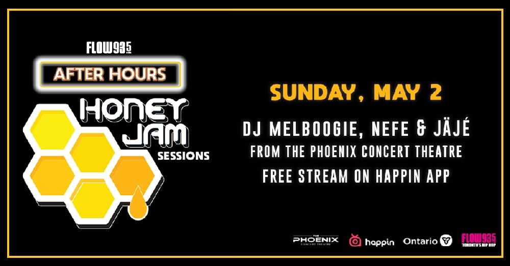 Flow 93.5 Presents After Hours - Jäjé, NEFE & a special DJ set from DJ MelBoogie